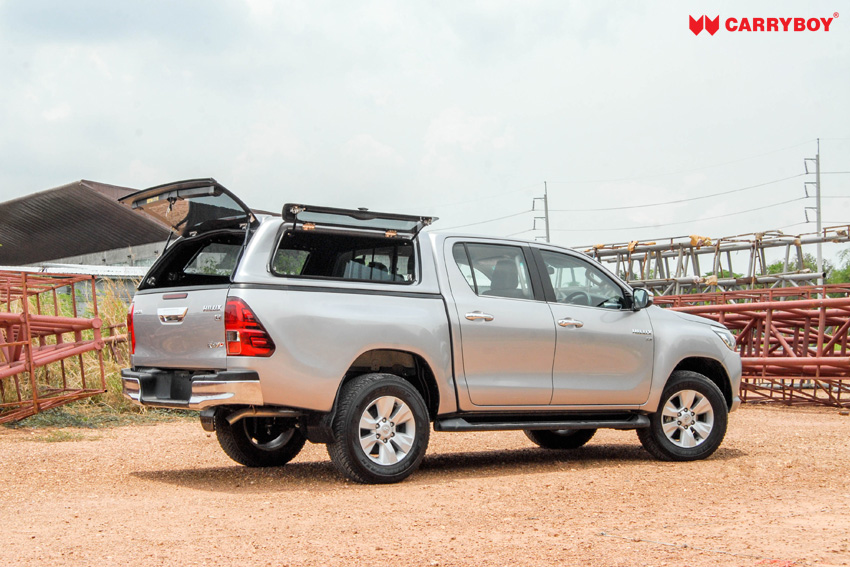 hardtop_canopy_fiberglass_son_so_lift-up_gull-wing_top-swing_toyota_hilux_revo_double-cab_carryboy2_1